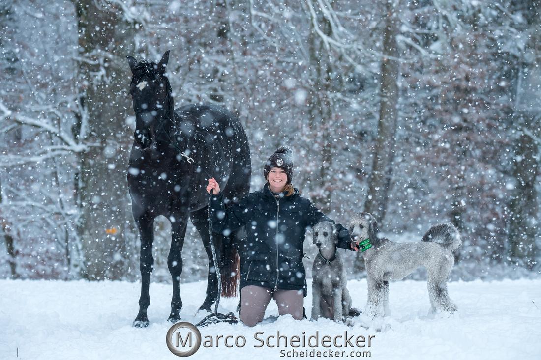C2019-01-05-2210  -  Anita's 4 Beiner im Schnee