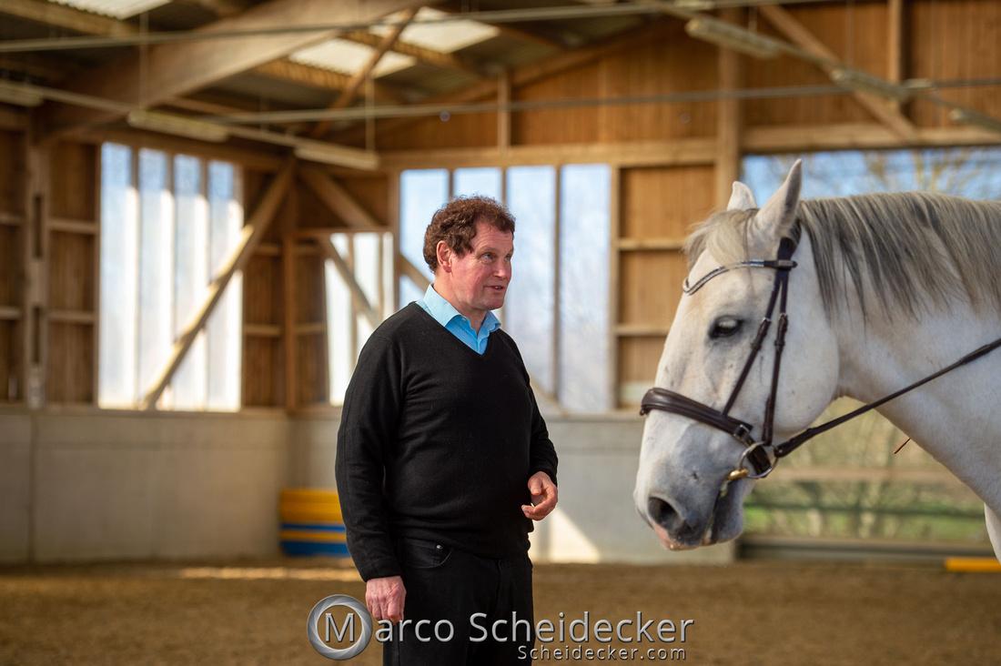 Barockes Reiten mit Richard Hinrichs April 2018